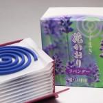 花かおり(渦巻きタイプ) ラベンダー 薫寿堂 10巻入
