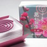 花かおり(渦巻きタイプ) うめ 薫寿堂 10巻入